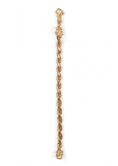 EB Double Gold Bracelet