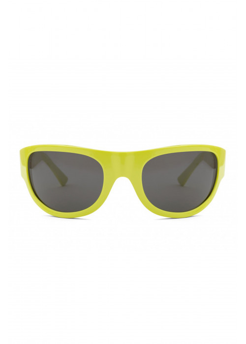 SUPER Reed Lime Sunglasses