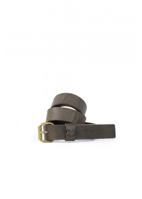Delle Cose Brown Leather Belt