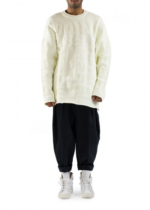 Juun.J Oversized Sweater