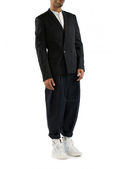 Juun.J Double Breasted Wool Blazer