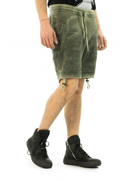 11 by BBS Green Shorts
