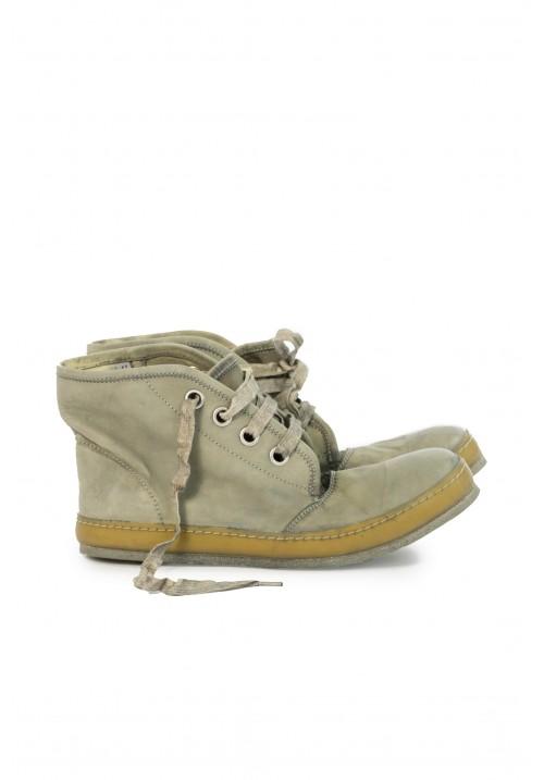 A1923 Grey Kangaroo Boots