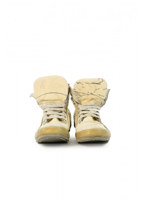 A1923 Beige Kangaroo Sneakers