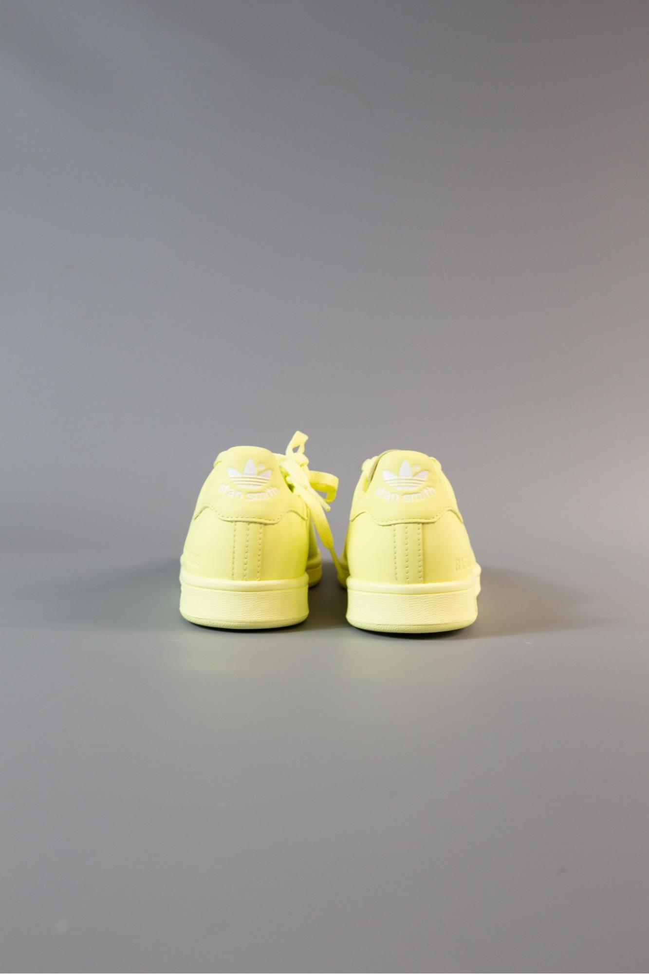Raf Simons Yellow Stan Smith Sneakers